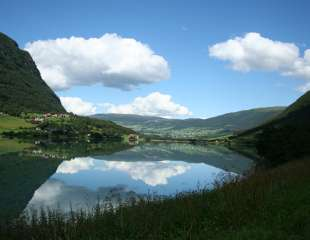 beautiful lanscapes from norwegian fjords