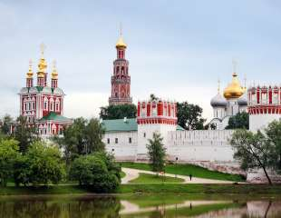 Novodevichy_Convent Moscow. Russia