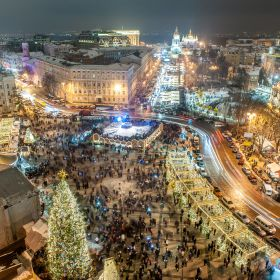 New Year in Kiev